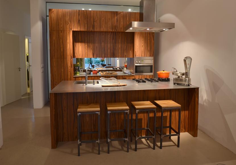 Keukens Met Eiland : Keuken met eiland pallisander (2) Jeroen Kool
