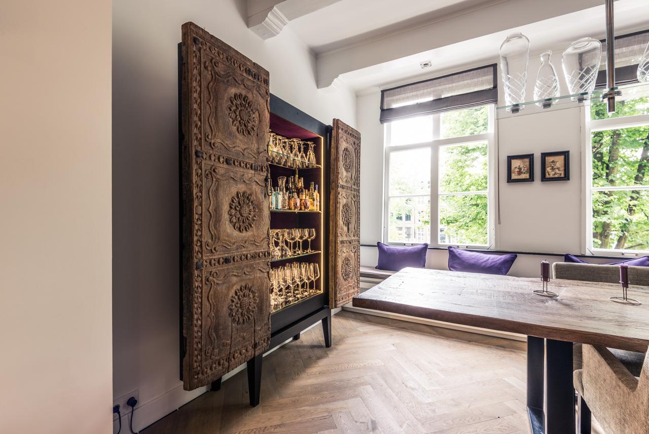 Kabinet antieke deuren jeroen kool for Interieur kabinet